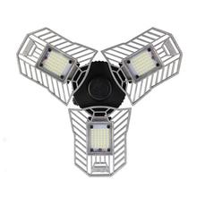 Высокой интенсивности E27 60 Вт 6000LM светодио дный деформируемого лампы освещения гаража AC110-265V светодио дный добыча лампы для гаража/чердак/Подвал/Home
