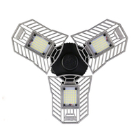 High Intensity E27 60W 6000LM Led Deformable Lamp Garage light AC170 265V LED Mining Lamps for Garage/ Attic/Basement/Home