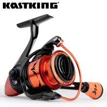 Kastking carretel de pesca, esferas de rolamento, alta velocidade, para água salgada, 11.34kg, 10 + 1