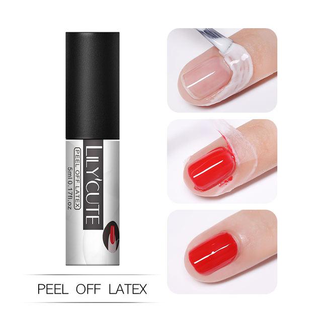 LILYCUTE 5ml Peel Off Nail Latex