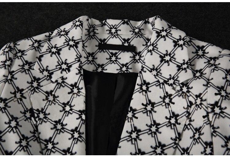 Mode Casual Pantsut Femmes D'affaires Veste Féminin Plaid Deux De Costume Chantiers Tempérament Grands Pantalon 1 Carrière pièce Zq7Ywq