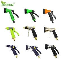 High Pressure 9 Style Garden Water Gun Alloy Adjustable Sprayer Hose Spray Water Nozzle Gardening Watering Household Car Wash