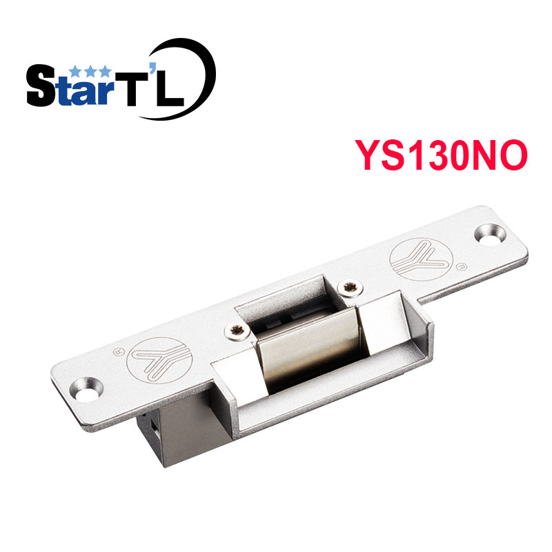 YS130NO Electric Strike Door Lock Electronic For Access Control System New Fail-safe fail Secure For Access Control double sided turnstile for access control system catracas tourniquetes