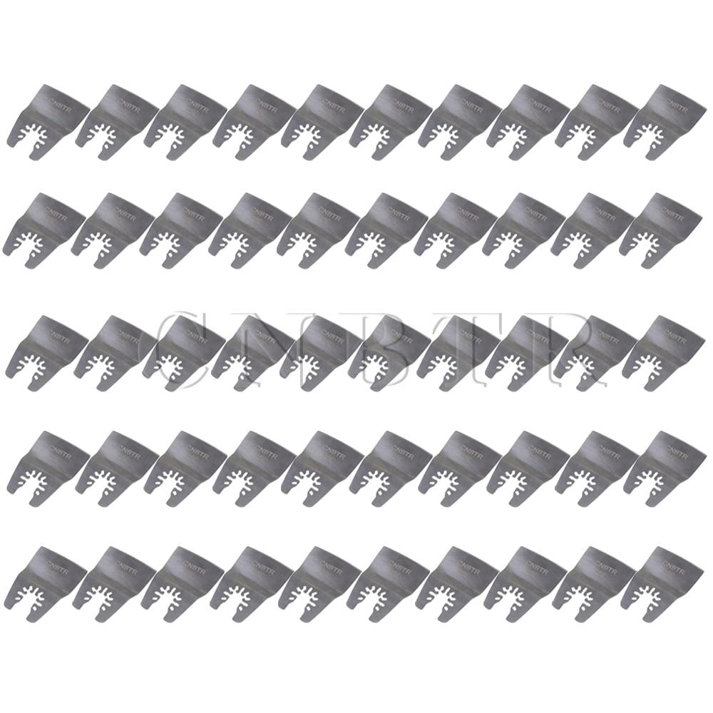 52mm Quick Release Stainless Steel Oscillating Flat Scraper Set of 10