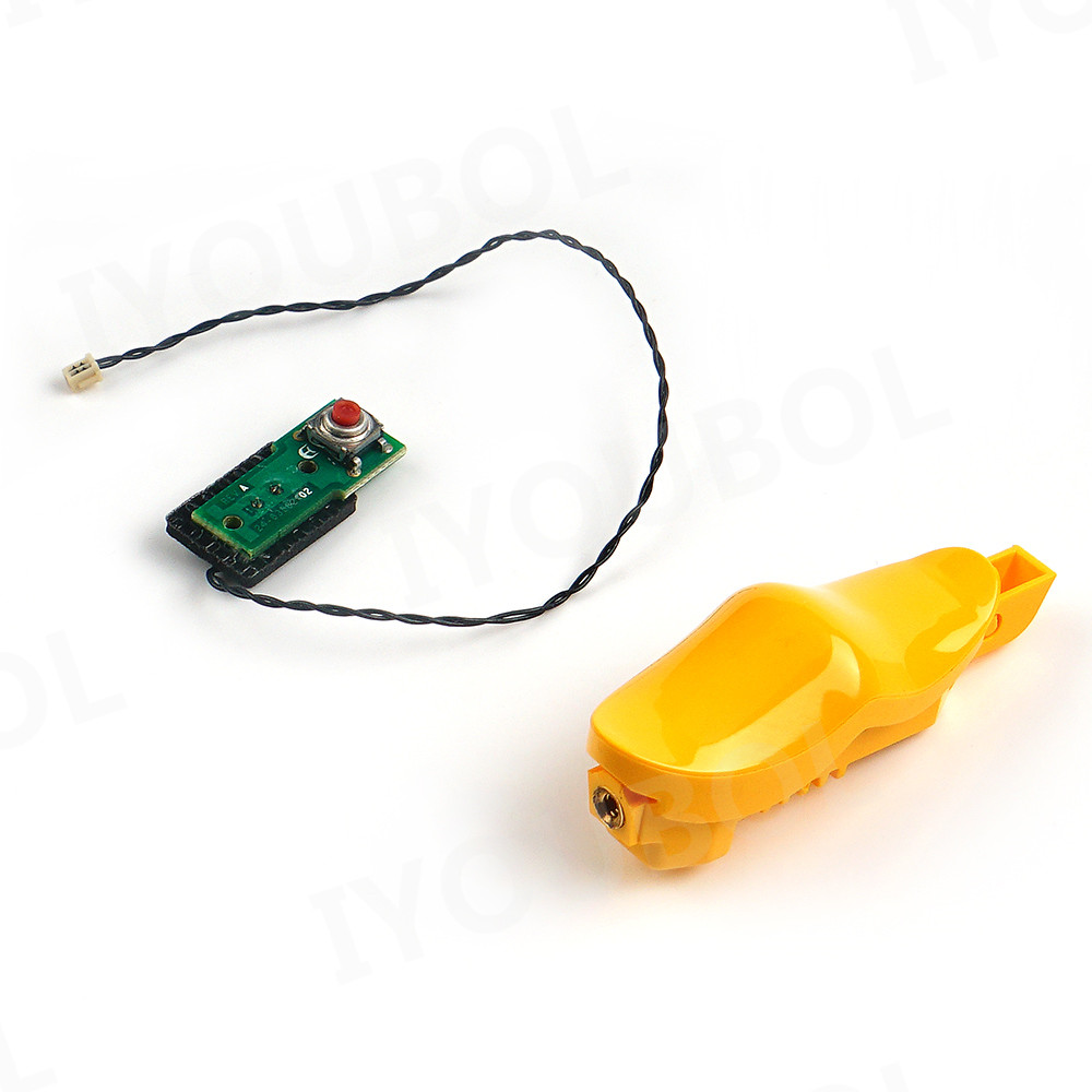 10pcs Trigger Switch (plastic+pcb) For Motorola Symbol Mc9190-g Mc9190-z Rfid (2 Pins)
