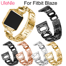 Stainless steel wristband For Fitbit Blaze smart watch frontier men's watches women's bracelet For Fitbit Blaze band accessories все цены