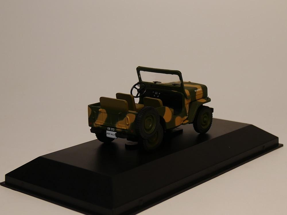 Altaya 1:43 IXO Jeep Willys Corpo De Bombeiros Toy Diecast Models Christmas Gift