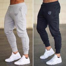 Летние новые модные тонкие мужские брюки, повседневные брюки для бега, бодибилдинга, фитнеса, пота, ограниченное время, спортивные штаны