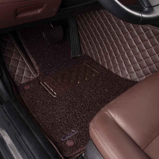 Hlfntf Car Floor Mats Custom Mat For Mitsubishi All Models Asx Lancer Sport Ex Singer Fortis Outlander Grandis Carpet In From