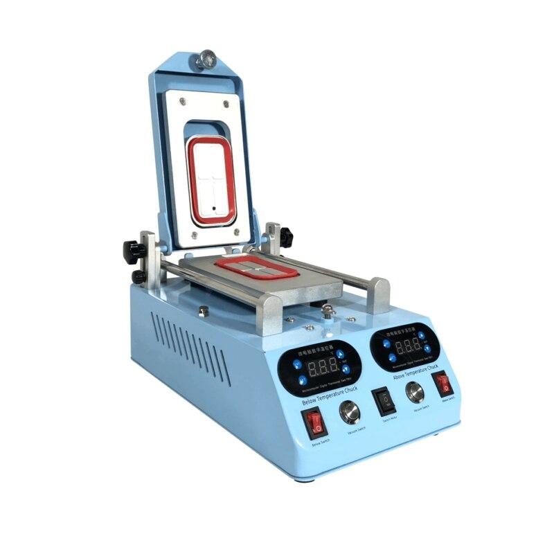 Оптовая продажа LY 268 Автоматическая Профессиональный ЖК монитор bezel Отопление сепаратор машина для плоской изогнутый экран устройство для