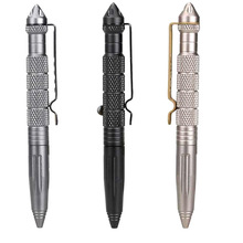 Tactical pen tungsten steel rotating unisex pen window metal ballpoint pen multifunctional metal pen FREE SHIPPING цена 2017