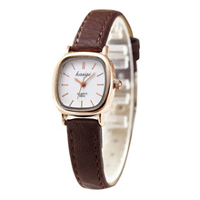 Fashion Luxury Ladies Square Watch Women Watches Casual Leather Strap Thin Watch relogio feminino reloj mujer