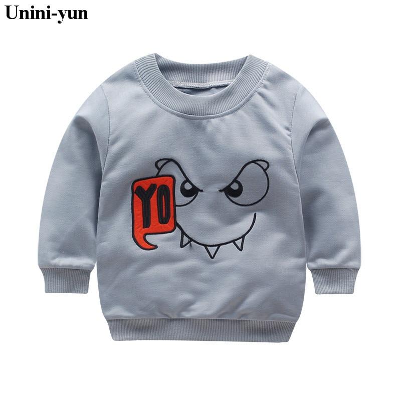 2018 Frühling Jungen Mädchen Sweatshirts Für 12m-6years Baby Kinder Kleidung Baumwolle Casual Jungen Mädchen Sweatshirts Pullover Tops Hoodies & Sweatshirts