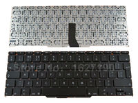 New UK Keyboard For Apple Macbook Air A1370 A1465 11 6 BLACK For Backlit Laptop Keyboards