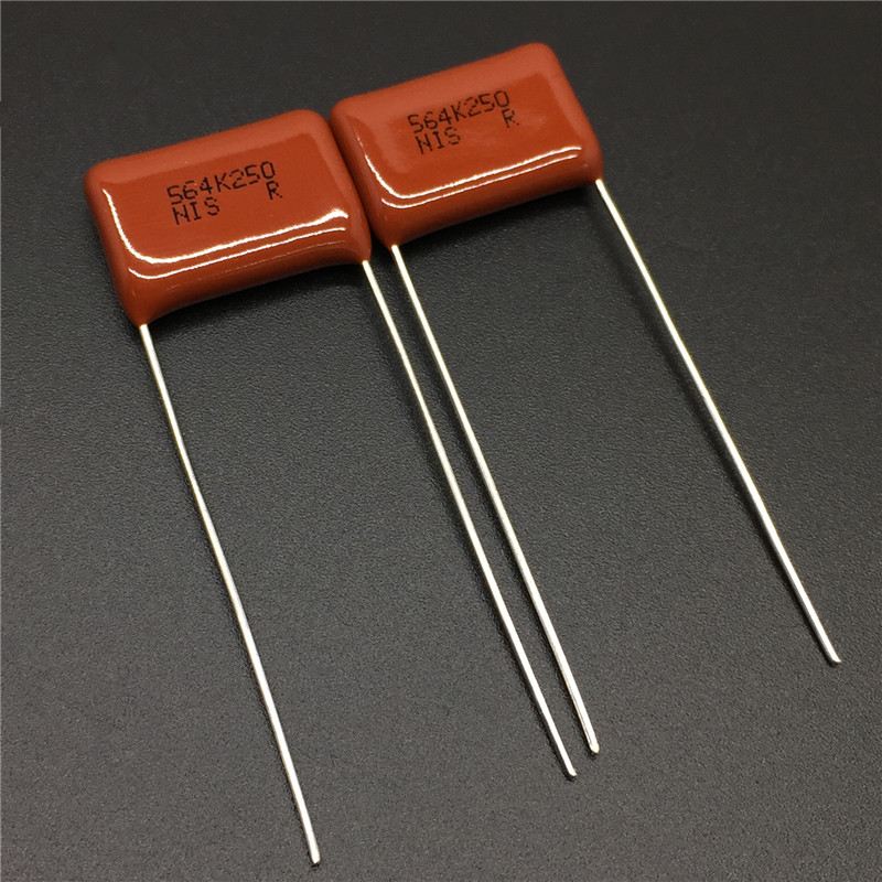 10Pcs/100Pcs Japan NISSEI CBB Capacitor MMC 250V 564 K 10% 0.56uF 560nF Pitch=15mm Metallized Polyester Film Capacitor