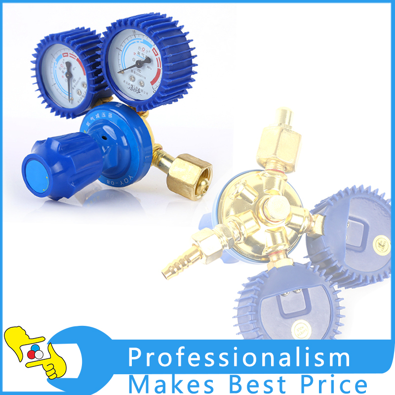 Shock Oxygen Table Flow Meter Gas Argon AR/CO2/O2 Oxygen Acetylene Regulator Welding With Pressure Gauge Argon Pressure Reducer htp argon co2 mig tig flow meter control valve regulator reduced pressure gas flowmeter welding weld flowmeter