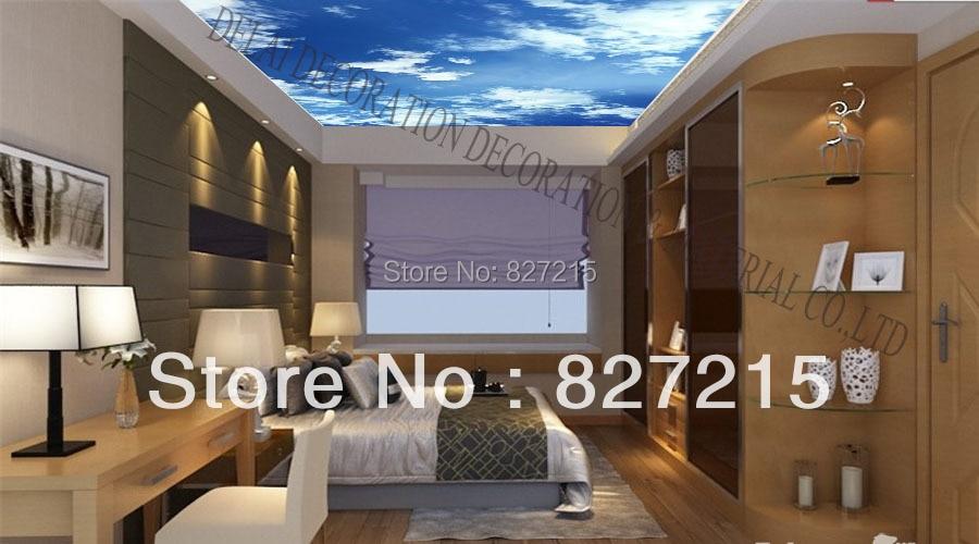 MO 0192 Blauen Himmel Deckenplatten Mit Led Licht Funktion Als Deckenplatte China