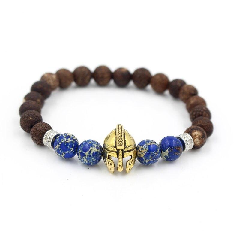 Strand Bracelets Jewelry & Accessories 8mm Regalite Stone Round Beads Men Bracelet Hand Chain Fashion Vintage Male Accessory