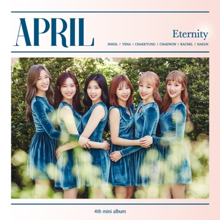 APRIL 4th Mini Album - ETERNITY Release Date 2017.09.21 broken april