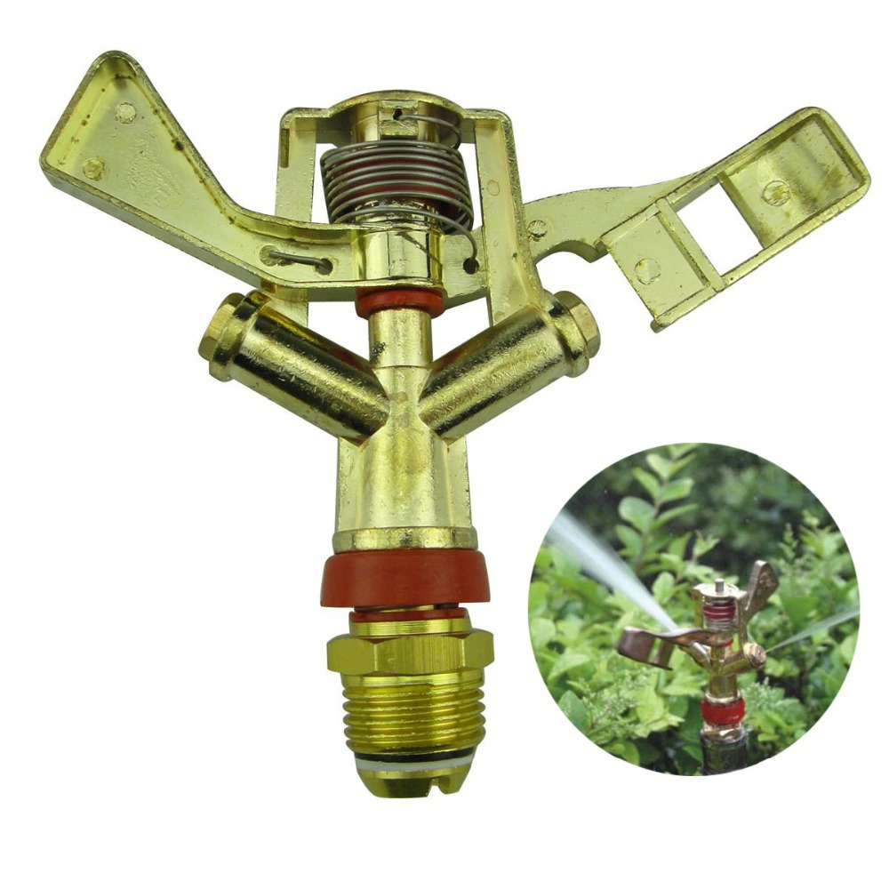 Dn20 3 4 Alloy Dual Nozzle Swing Type Rotating Irrigation