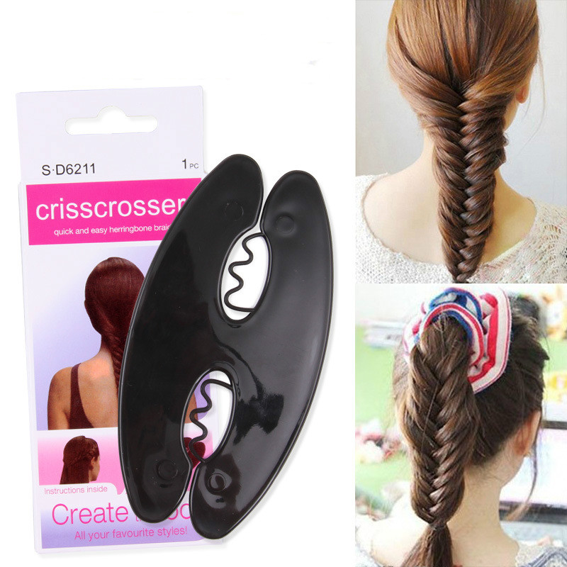 Magic French Hair Braiding Tools DIY Hairstyling Accessories Salon Tool Weave Hair Twist Styling Maker Girl Gift Braider Roller