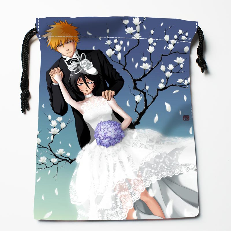 Custom Ichigo Kurosaki Bags Custom Printed Gift Bags More Size 27x35cm Compression Type Bags