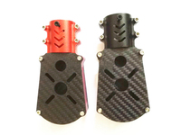 2PCS D35mm Motor Seat 35mm Dia Carbon Tube Fixed Mount Holder Bracket Base Joint Connector Adapter for RC UAV Drone Multirotor
