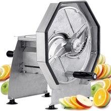 Коммерческий большой высокоскоростной Ручной Кухонный комбайн для дегидраторов из нержавеющей стали, Ломтерезка, шинковочная машина, дыня, фрукты
