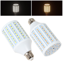 цена на LED Corn Bulb 20W E27 102 x 5050 SMD LampTube High Bright Warm White / White Light 110V/220V