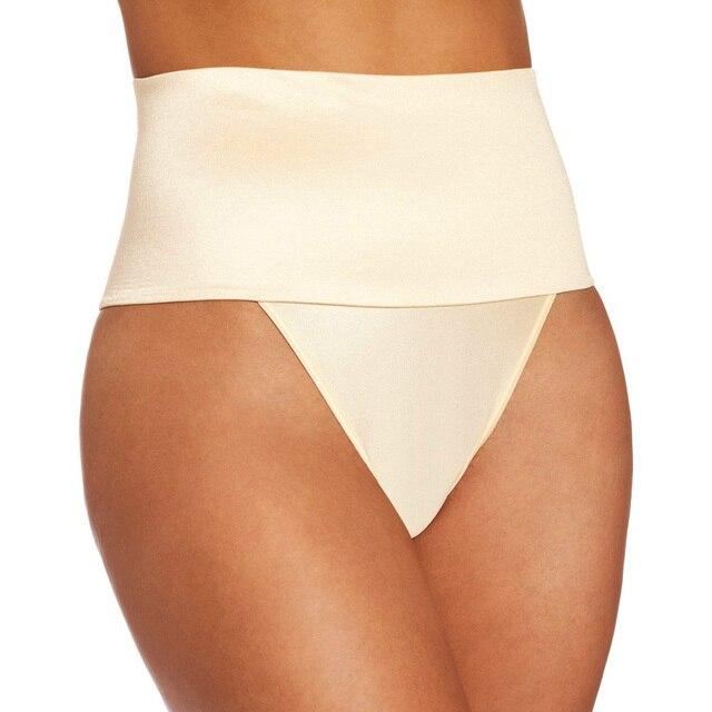 e70fb07f7 Sexy High Waist Tummy Control Panties Women Waist Training Corsets Thong  Cincher Body Shaper Butt Lifter Waist Trainer Lingerie