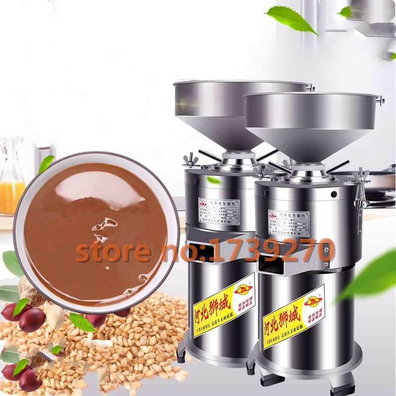 2018 30kg/h peanuts sauce making machine,stainless steel sesame paste milling machine for commercial use цена