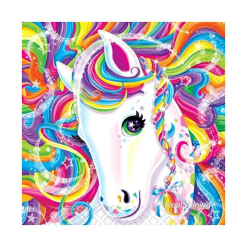 5D Diamond Painting Attractive Horse Round Full Diamond Painting Embroidery Cross Stitch Rhinestone Craft Home Decoration New