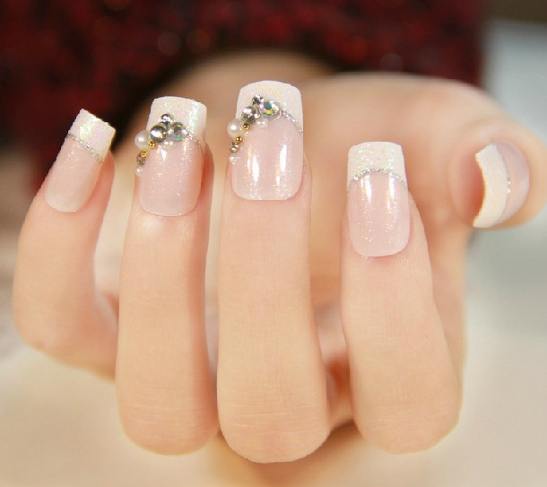 2014 New Fashion false nails products artificial nail tips full ...