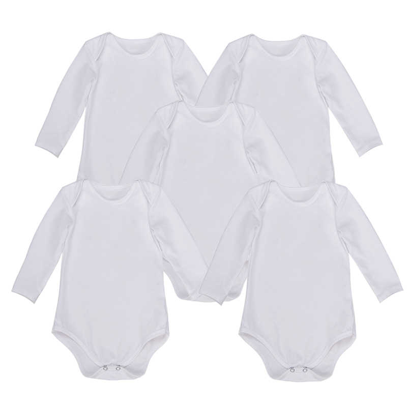 27f2edaea Detail Feedback Questions about 5PCS Lot Baby Bodysuits Clothes Long ...
