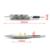 LED 2X Car Fender Piscas Lado Marcador de Luz LED 12 V SMD3528 Lâmpada Kit para BMW E60 E61 E81 E82 E87 E88 E90 E91 E92 E93 M Logotipo