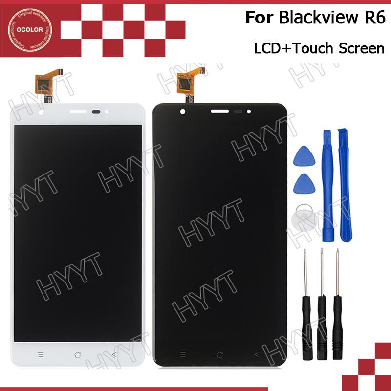 Prix pour Blackview R6 LCD Affichage et Écran Tactile Assemblée Réparation Partie 5.5 pouce 1920*1080 Mobile Accessoires Pour Blackview R6 + outils
