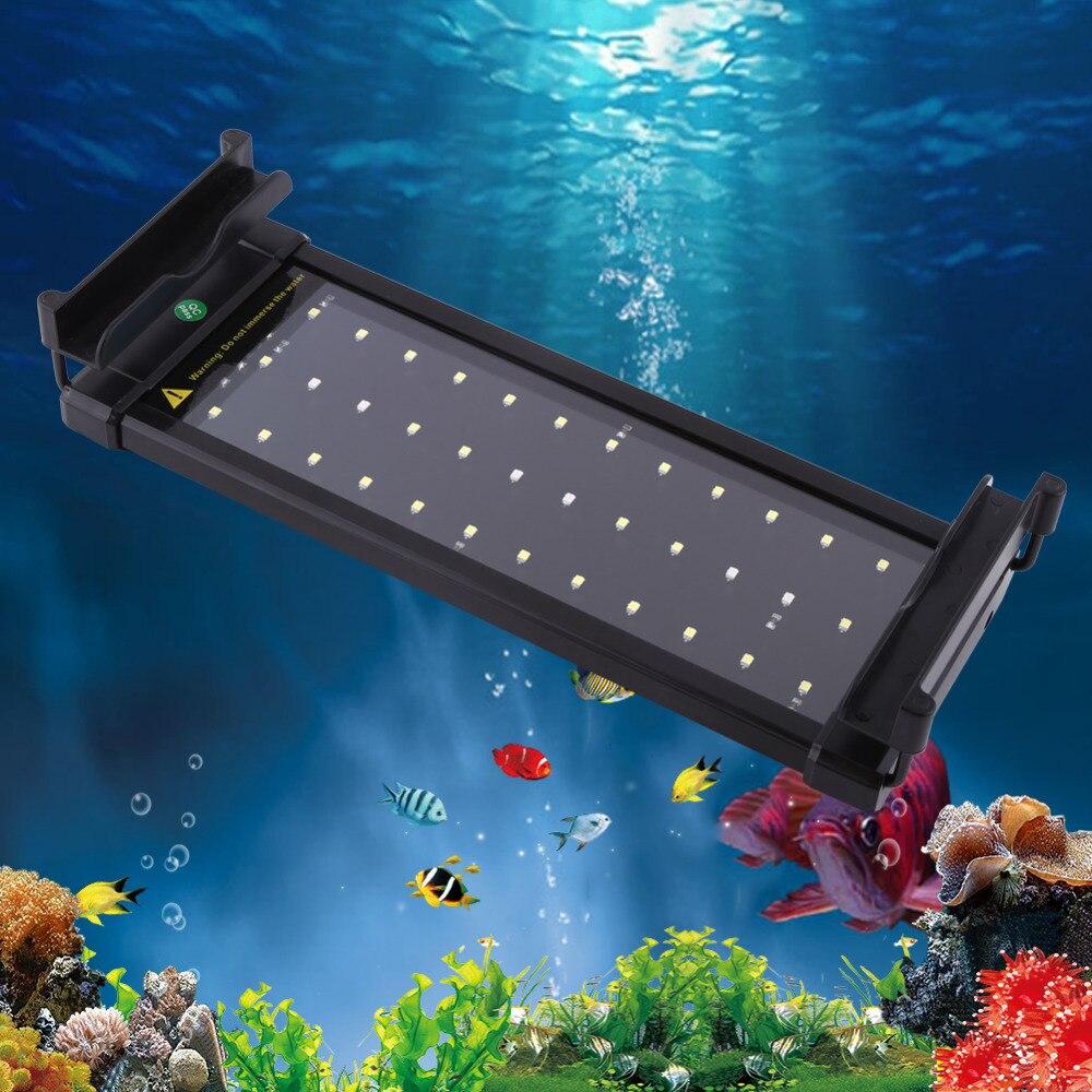 Aliexpress.com : Buy US EU Plug 6W Aquarium Light Fish ...