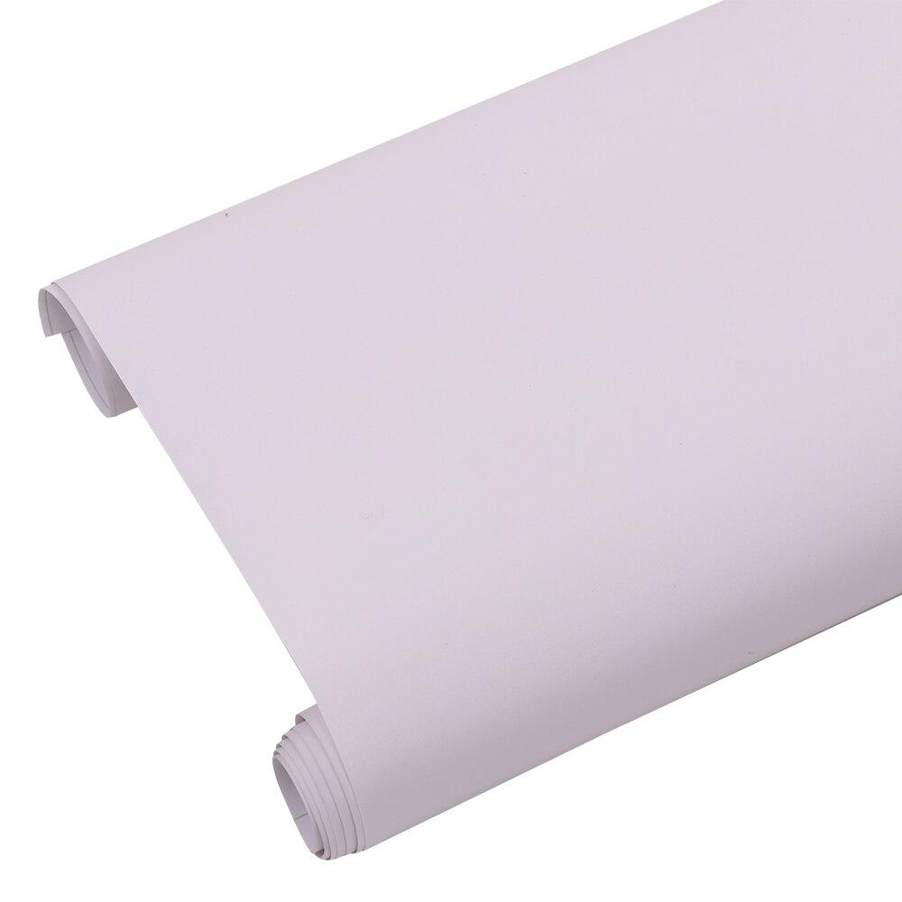 HOHOFILM 1.22x8 m rouleau gel blanc mat fenêtre Film décoratif fenêtre teinte intimité verre autocollant blanc verre autocollant