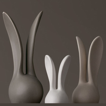 AIMS The living room decoration decoration Home Furnishing rabbit soft Ornament Christmas present for his girlfriend