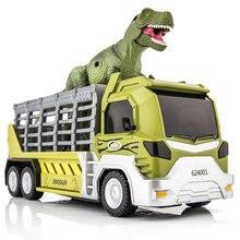 Hasbro 6 styles Jurassic Dinosaur World Alloy Transport Vehicle Raptor Tyrannosaurus Rex Toy Truck Model цена