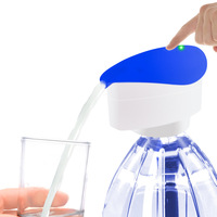KCASA Electric Water Bottle Pump Dispenser Rechargeable Drinking Water Bottles Dispenser Suction Unit Touch Sensor Bar Tool