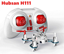 Original Hubsan H111 4CH 6-axis Gyro Mini RC Quadcopter with LED Light 2.4GHz RTF Children's toy Free Shipping