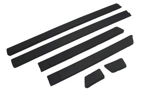 Ensemble de garnitures de moulage à 4 portes | Flambant neuf de porte latérale, bande frottée Version épaisse pour vw Jetta MK2