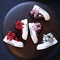 YNB Mais Nova Moda Meninas Crianças Paillette Sapatos Crianças Botas Curtas para Meninas Nova Marca das Crianças PU Casuais Sapatos de Desporto com arco