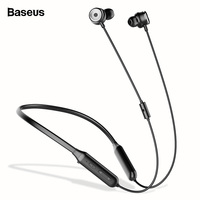 Baseus S15 Active Noise Cancelling Bluetooth Earphone Headset ANC Sport Neckband Wireless Headphones With Mic For iPhone Samsung