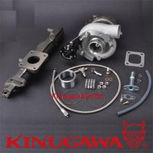 Kinugawa Turbocharger Kit TD05H-17C 10cm w/ Actuator for Mitsubishi Fuso 4D31T 4D34T 3.6/3.9L Diesel Canter