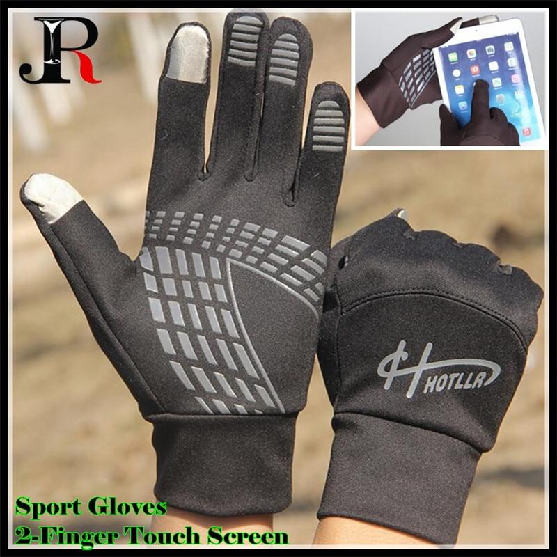 200p!Men&Women Winter Lightweight 2-Finger Touch Screen Gloves,Super Elastic Quick-dry,Non-slip,Jogging Sporting Magic Gloves