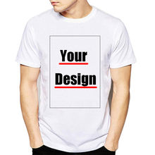Customized T Shirt Men Print Your Own Design With Logo