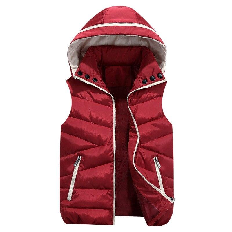 2018 Hot Sale Vest Waistcoats Vest Women Cardigans Jacket Winter Warm Clothes Parkas Outwear Woman Coat Female Clothing Aa216
