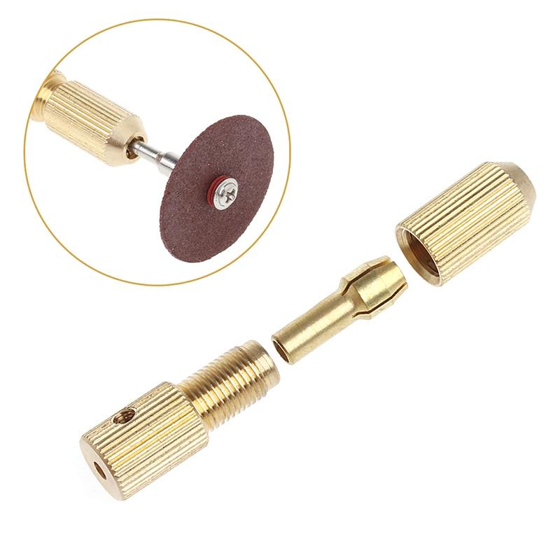 YOFE 10Pcs 0.5-3.2mm Micro Twist Hand Drill Kit Chuck Electric Drill Bit Collet+2mm